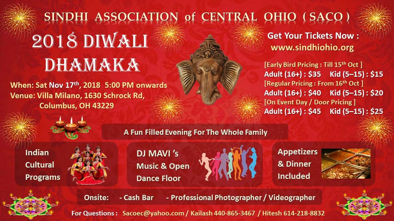 SACO Diwali Dhamaka 2018